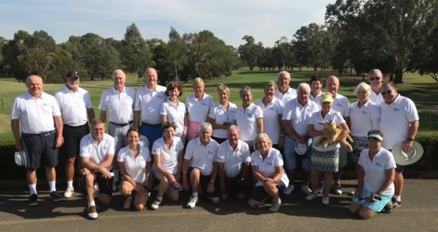 Murray Greys annual golf tour