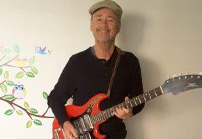 John and guitar