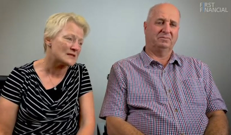 Jeff and Jenny Denison love having the freedom to travel in their retirement