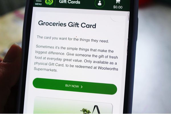 Woolworths grocery giveaway
