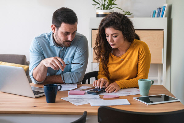 Combining finances with your partner