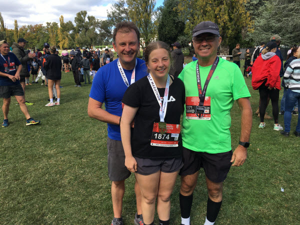 Congratulations David, Graeme and Jennifer