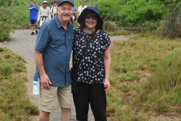 Karen and Gary's trip of a lifetime