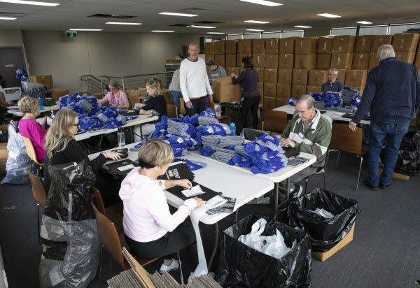 Beanie packing for FightMND